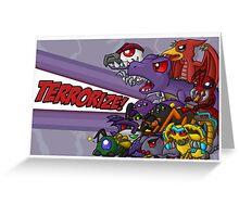 Team Predacon Greeting Card