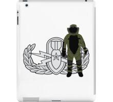 EOD Senior Bomb Suit iPad Case/Skin