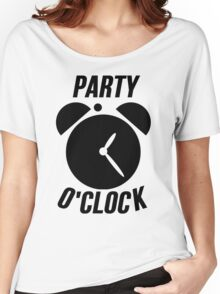 Party O Clock - Party Time Women's Relaxed Fit T-Shirt