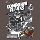 Conform Flakes (BLACK & WHITE ED.) by Punksthetic