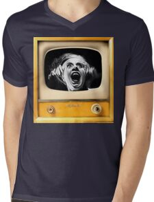 Electric Bride Mens V-Neck T-Shirt