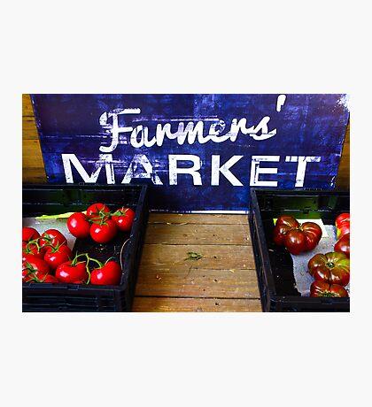 Schnepf Farms Farmers Market Study 5 Photographic Print