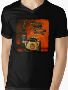 The One Year Anniversary Show Artwork Mens V-Neck T-Shirt
