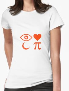 I LOVE MOON PIE Womens Fitted T-Shirt