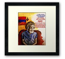 Armenian Genocide 1915 Framed Print