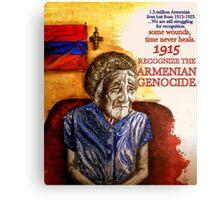 Armenian Genocide 1915 Canvas Print