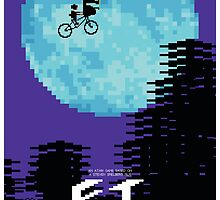 E.T. the Movie… the game… the poster by John Meehan
