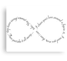 """Ellie Goulding """"Figure 8"""" Canvas Print"""