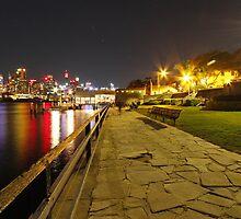 Balmain East Wharf by Harry Roma