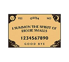 Biggie Smalls FO LIFE Photographic Print