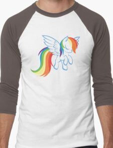 My Little Pony: Rainbow Dash Men's Baseball ¾ T-Shirt
