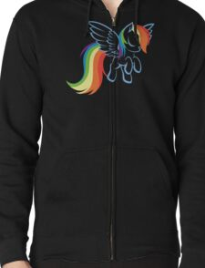 My Little Pony: Rainbow Dash Zipped Hoodie