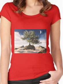 Mystery Tree Women's Fitted Scoop T-Shirt