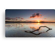 Nudgee Beach, Qld Canvas Print