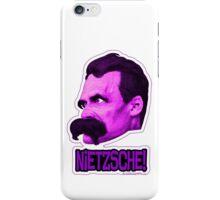 Nietzsche - Big Head Nietzsche! iPhone Case/Skin