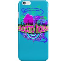ELECTRO HOUSE MUSIC iPhone Case/Skin
