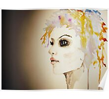 buterfly hair Poster