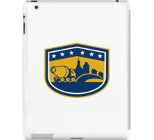 Cement Truck Construction Building Shield iPad Case/Skin