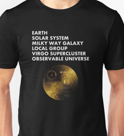 Cosmic Address Unisex T-Shirt