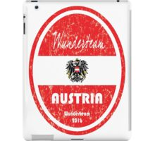 Euro 2016 Football - Austria iPad Case/Skin