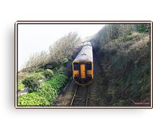 "The little ""Park and Ride Train"" Canvas Print"
