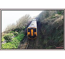 """The little """"Park and Ride Train"""" Photographic Print"""