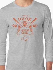 Duck Hunting Club Long Sleeve T-Shirt