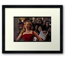 Red / Scarlett Framed Print