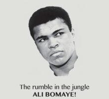 The rumble in the jungle, Mohamed Ali - Bomaye! by maocat