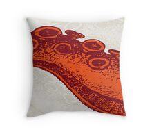 Le Tentacule  Throw Pillow