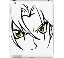 Edward elric, the fullmetal alchemist iPad Case/Skin