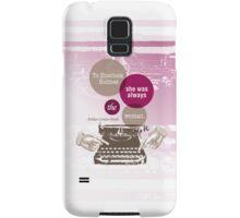 To Sherlock Holmes… Samsung Galaxy Case/Skin