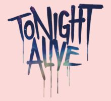 tonight alive galaxy Kids Clothes
