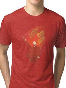 Vintage USSR Lenin Propaganda Tri-blend T-Shirt