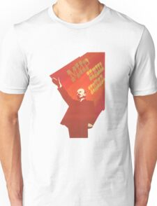 Vintage USSR Lenin Propaganda Unisex T-Shirt