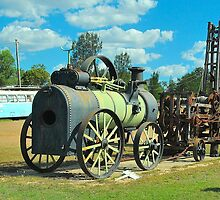 Old Miner's Steam Engine by peasticks