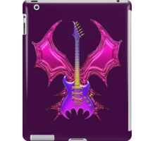 Purple Gothic Bat Guitar iPad Case/Skin