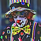 Thoughtful Clown by Paul Stevens