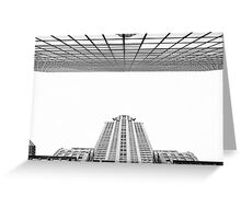 We shape our buildings; thereafter they shape us Greeting Card