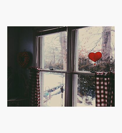 Cold day, cold hearts Photographic Print