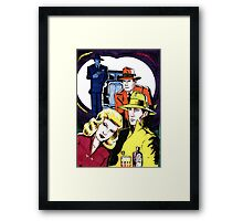 The Imaginary Gangster Movie Framed Print
