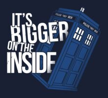 Bigger on the inside by AMDY