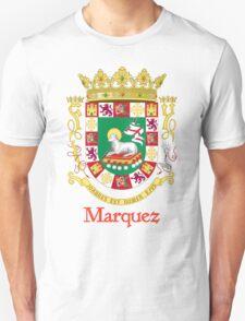 Marquez Shield of Puerto Rico T-Shirt