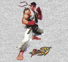 Streetfighter Ryu Shirt by Bergmandesign
