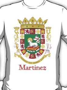Martinez Shield of Puerto Rico T-Shirt
