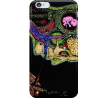 Psychedelic picture iPhone Case/Skin