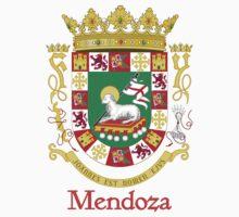 Mendoza Shield of Puerto Rico by William Martin