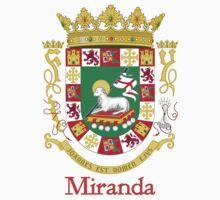 Miranda Shield of Puerto Rico One Piece - Short Sleeve