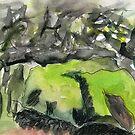 The mossy stone. by Gabriele Maurus