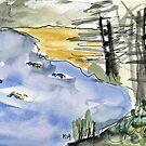 The Duck Pond by Gabriele Maurus